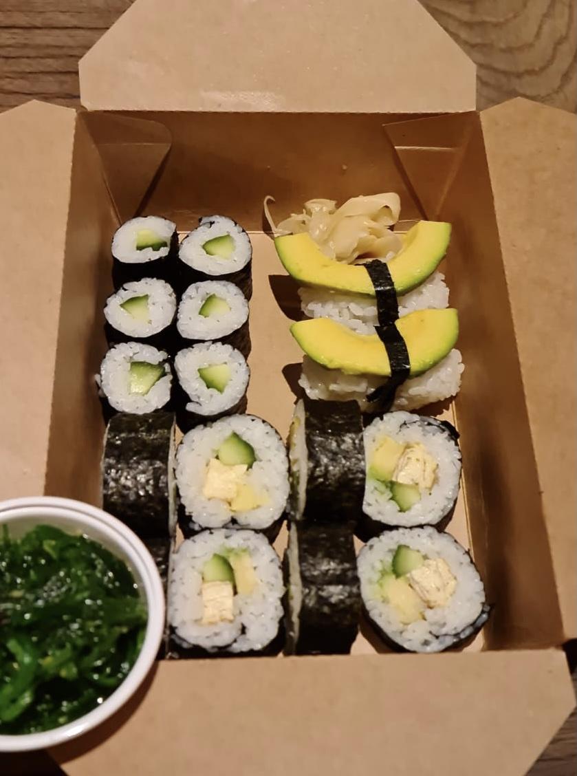 Sushi Menu Vega