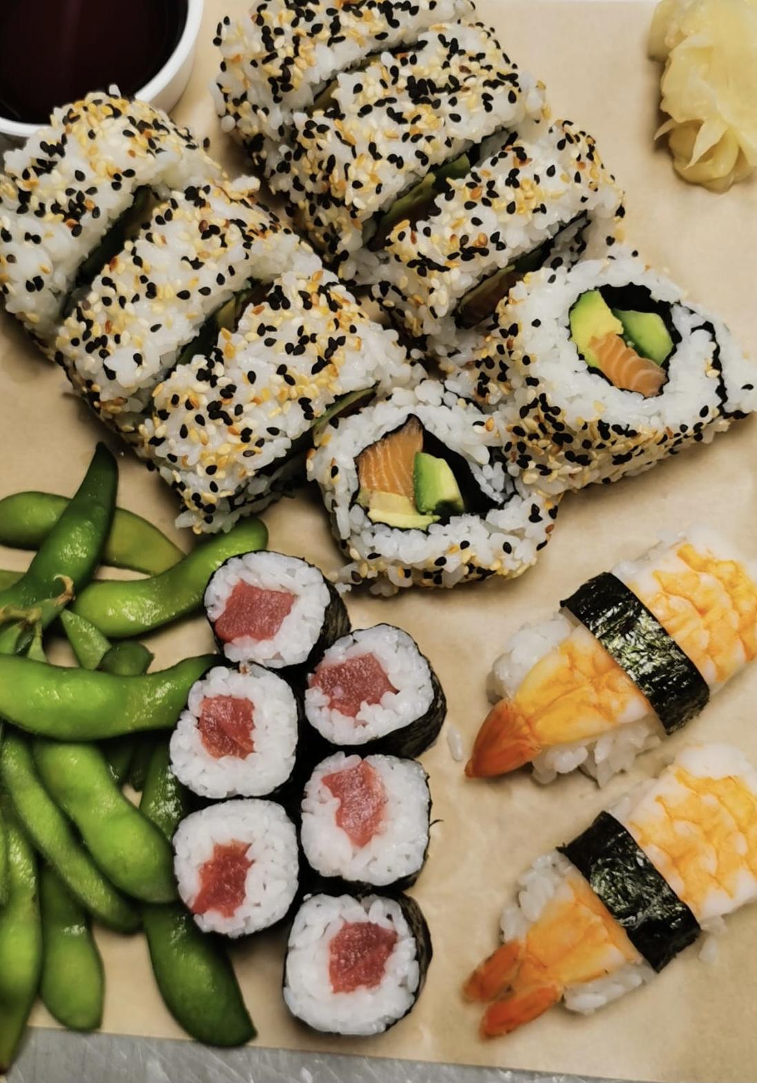 Sushi Menu Vis